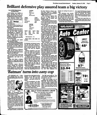 The Salina Journal from Salina, Kansas on January 19, 1986 · Page 43