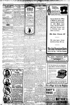 Iola Daily Register And Evening News from Iola, Kansas on October 29, 1907 · Page 4