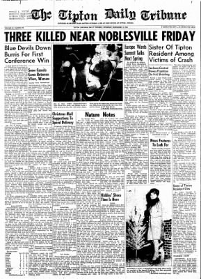 The Tipton Daily Tribune from Tipton, Indiana on December 5, 1964 · Page 1