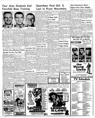 The Daily Inter Lake from Kalispell, Montana on July 15, 1958 · Page 3
