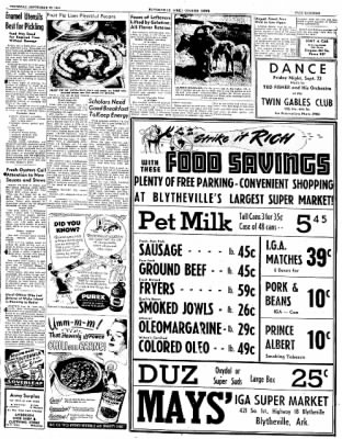 The Courier News from Blytheville, Arkansas on September 22, 1949 · Page 15