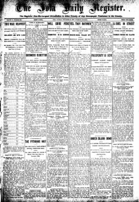 Iola Daily Register And Evening News from Iola, Kansas on November 10, 1908 · Page 1