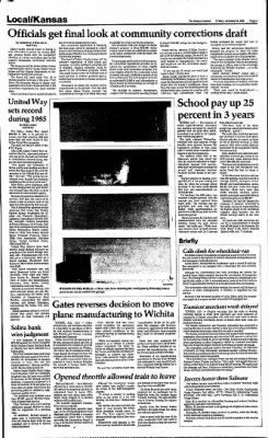 The Salina Journal from Salina, Kansas on January 24, 1986 · Page 3