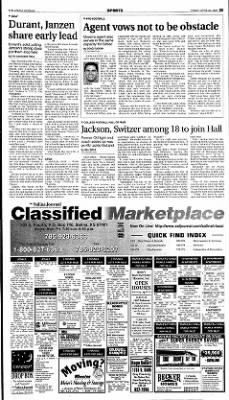 The Salina Journal from Salina, Kansas on April 20, 2001 · Page 21