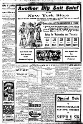 Iola Daily Register And Evening News from Iola, Kansas on November 10, 1908 · Page 6