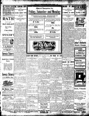 Iola Daily Register And Evening News from Iola, Kansas on November 7, 1907 · Page 5