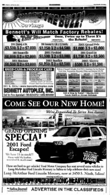 The Salina Journal from Salina, Kansas on April 20, 2001 · Page 28