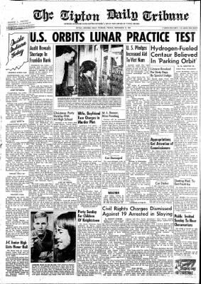 The Tipton Daily Tribune from Tipton, Indiana on December 11, 1964 · Page 1