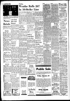 The Ottawa Herald from Ottawa, Kansas on February 16, 1963 · Page 6