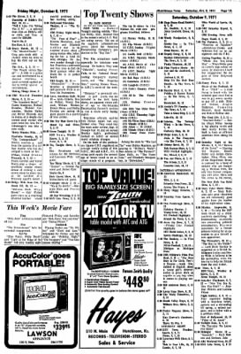 The Hutchinson News from Hutchinson, Kansas on October 2, 1971 · Page 83