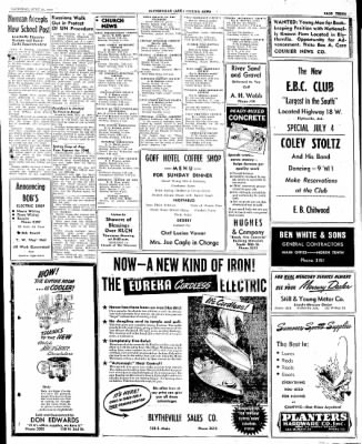 The Courier News from Blytheville, Arkansas on June 21, 1947 · Page 3