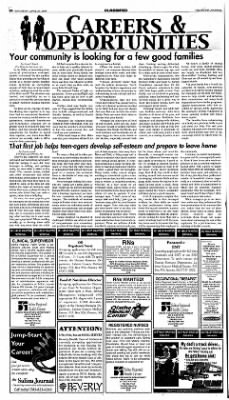 The Salina Journal from Salina, Kansas on April 21, 2001 · Page 22