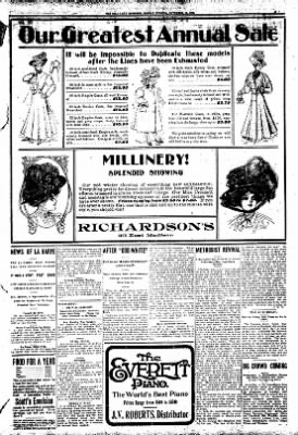 Iola Daily Register And Evening News from Iola, Kansas on November 16, 1908 · Page 3