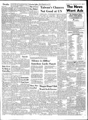 The Hutchinson News from Hutchinson, Kansas on October 2, 1971 · Page 97
