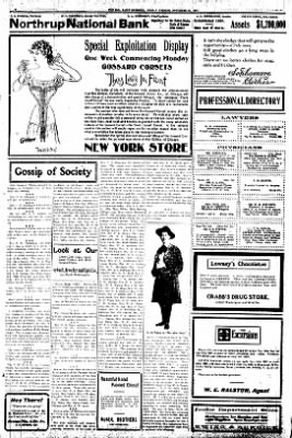 Iola Daily Register And Evening News from Iola, Kansas on November 15, 1907 · Page 2