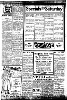 Iola Daily Register And Evening News from Iola, Kansas on November 15, 1907 · Page 8