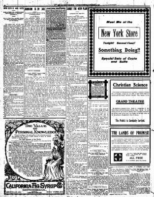 Iola Daily Register And Evening News from Iola, Kansas on November 16, 1907 · Page 6