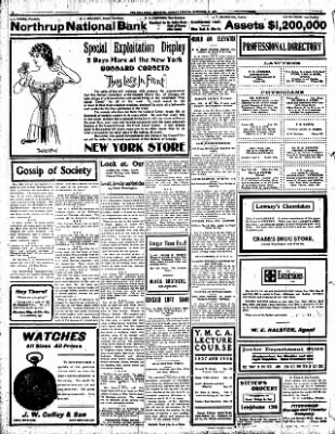 Iola Daily Register And Evening News from Iola, Kansas on November 18, 1907 · Page 2