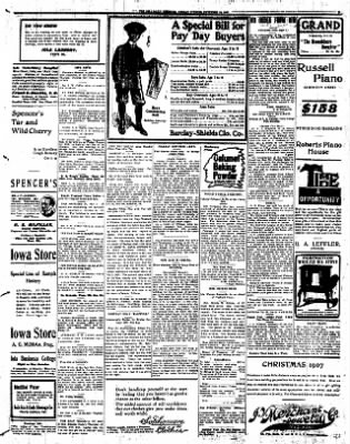 Iola Daily Register And Evening News from Iola, Kansas on November 18, 1907 · Page 5
