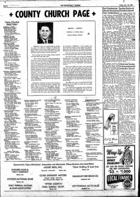 The Tipton Daily Tribune from Tipton, Indiana on December 18, 1964 · Page 4