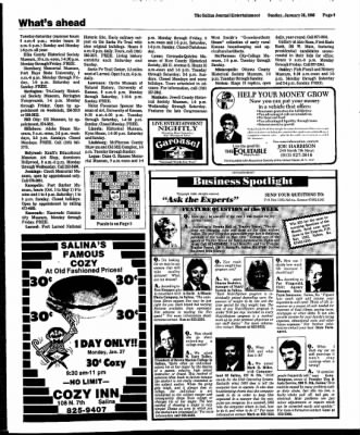The Salina Journal from Salina, Kansas on January 26, 1986 · Page 45