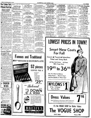 The Courier News from Blytheville, Arkansas on September 23, 1949 · Page 3