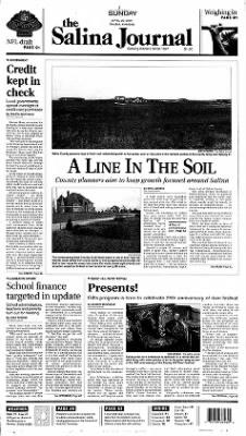 The Salina Journal from Salina, Kansas on April 22, 2001 · Page 1
