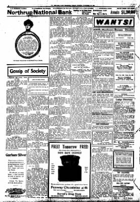 Iola Daily Register And Evening News from Iola, Kansas on November 20, 1908 · Page 2