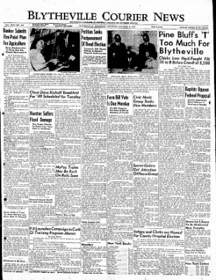 The Courier News from Blytheville, Arkansas on October 8, 1949 · Page 1