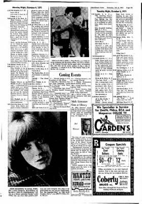 The Hutchinson News from Hutchinson, Kansas on October 2, 1971 · Page 137