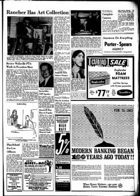 The Ottawa Herald from Ottawa, Kansas on February 25, 1963 · Page 9