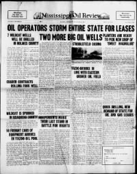 Sample Mississipi Oil Review front page