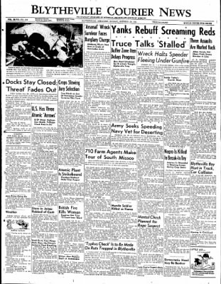 The Courier News from Blytheville, Arkansas on October 29, 1951 · Page 1