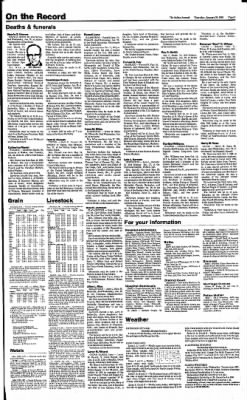 The Salina Journal from Salina, Kansas on January 30, 1986 · Page 9