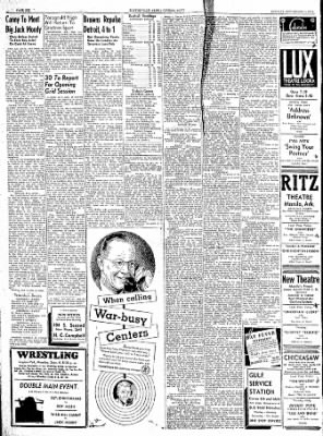 The Courier News from Blytheville, Arkansas on September 4, 1944 · Page 6