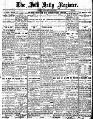 Iola Daily Register And Evening News from Iola, Kansas on November 29, 1907 · Page 1