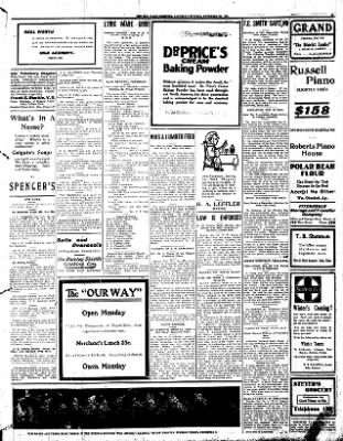 Iola Daily Register And Evening News from Iola, Kansas on November 30, 1907 · Page 5