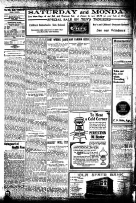 Iola Daily Register And Evening News from Iola, Kansas on November 27, 1908 · Page 4