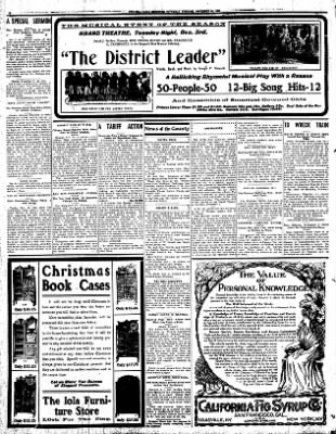 Iola Daily Register And Evening News from Iola, Kansas on November 30, 1907 · Page 6