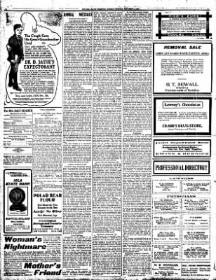 Iola Daily Register And Evening News from Iola, Kansas on December 3, 1907 · Page 4