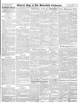 The Bakersfield Californian from Bakersfield, California on August 28, 1944 · Page 14