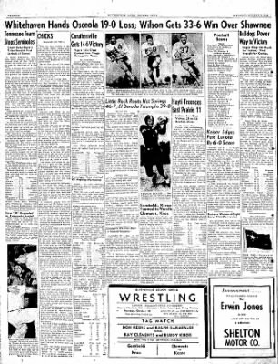 The Courier News from Blytheville, Arkansas on October 8, 1949 · Page 6