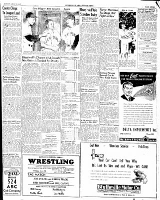 The Courier News from Blytheville, Arkansas on June 23, 1947 · Page 6