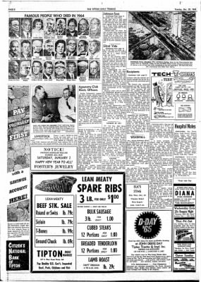 The Tipton Daily Tribune from Tipton, Indiana on December 29, 1964 · Page 8