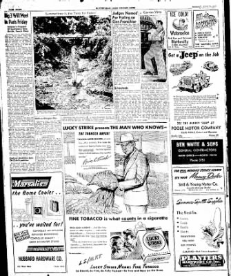 The Courier News from Blytheville, Arkansas on June 23, 1947 · Page 7