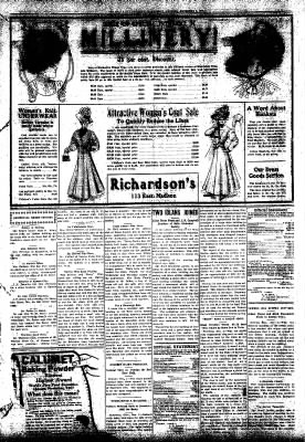 Iola Daily Register And Evening News from Iola, Kansas on December 2, 1908 · Page 3