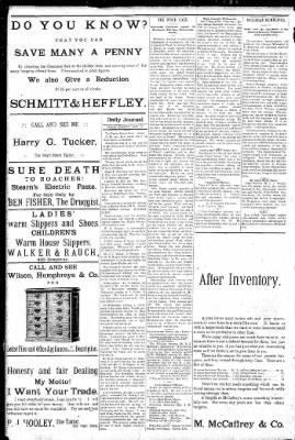 Logansport Pharos-Tribune from Logansport, Indiana on January 16, 1891 · Page 8