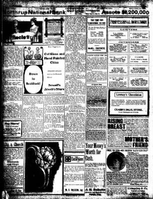 Iola Daily Register And Evening News from Iola, Kansas on December 7, 1907 · Page 2