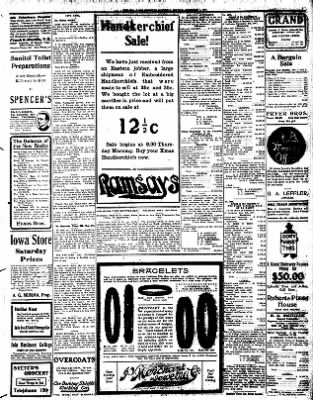 Iola Daily Register And Evening News from Iola, Kansas on December 7, 1907 · Page 3
