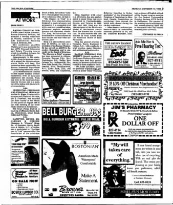 The Salina Journal from Salina, Kansas on October 14, 1996 · Page 17